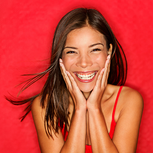woman laughing 2