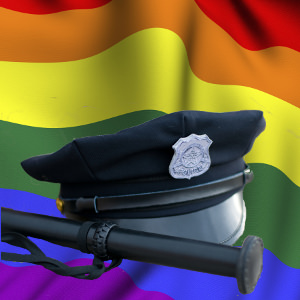 police gay