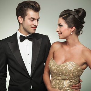 couple formal wear