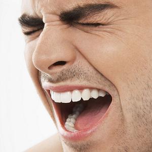 man teeth