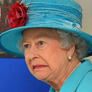 queen elizabeth shocked