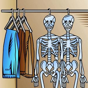 skeletons closet