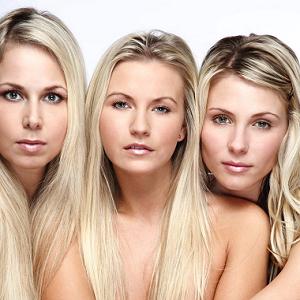 blonde women