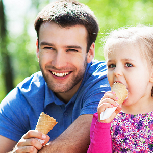 father daughter ice cream 3