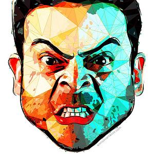 man angry 10