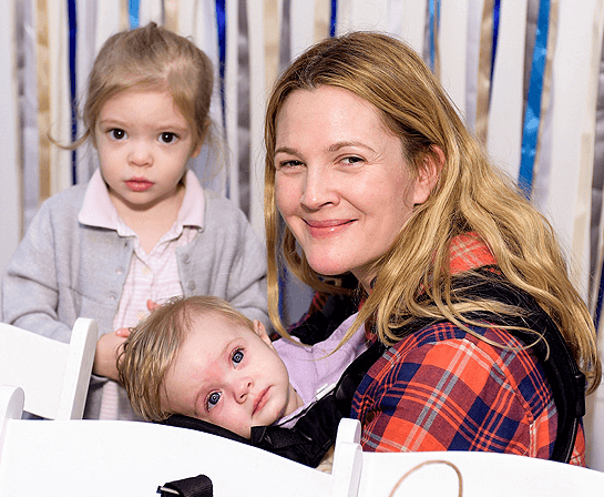 drew barrymore and kids