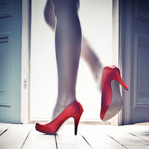 woman leaving 3