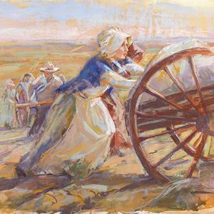 woman pioneer