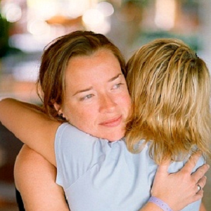 women hugging 6