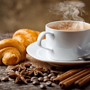 coffee croissant 2