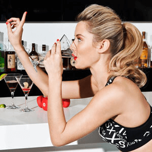 girl drinking 2