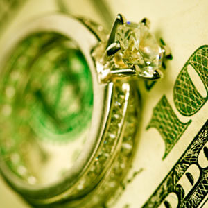 wedding ring money