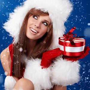 woman christmas 1