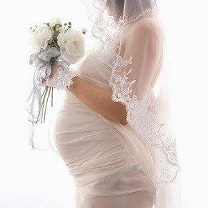 bride pregnant 3