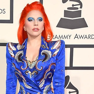 lady gaga david bowie grammys 2016