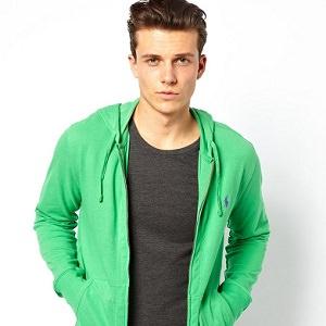 man green hoodie