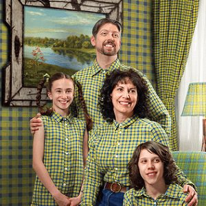 plaid family
