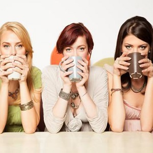 women coffee