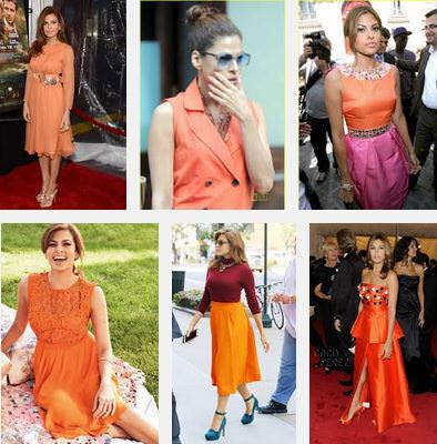 eva mendes fashion