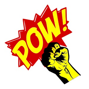 fist pow
