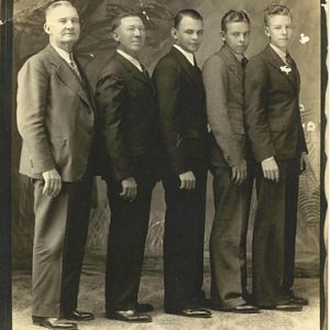 five men