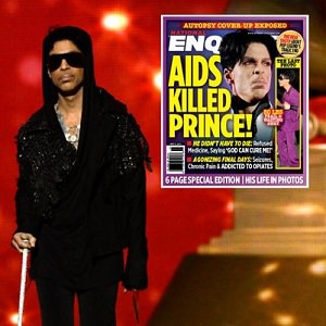 prince died of aids