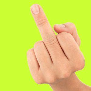 the finger 2
