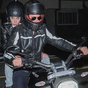 lady gaga bradley cooper motorcycle