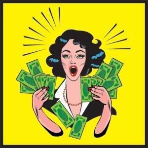 woman money 33