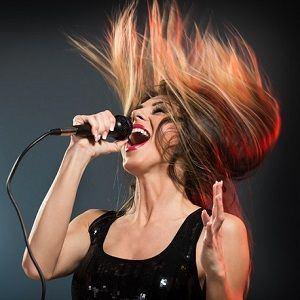 woman singing 5