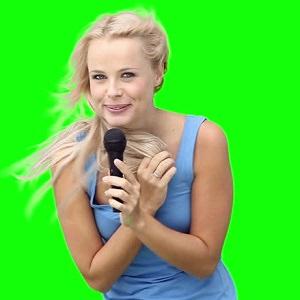 woman singing 6