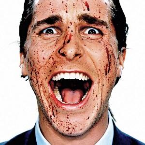 man blood face