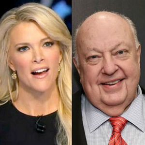 Megan Kelly and Roger Ailes