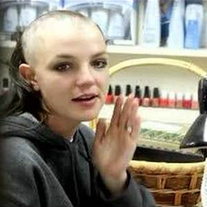 britney spears shaving head