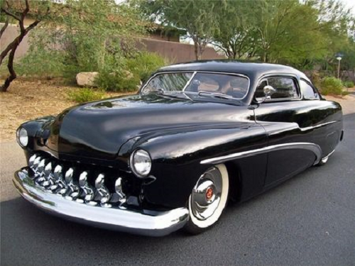 car 1951 mercury coupe