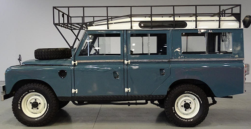 car 19602 land rover IIA