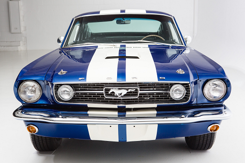 1966 for mustang blue