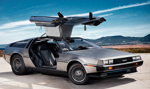 car delorean dmc 12